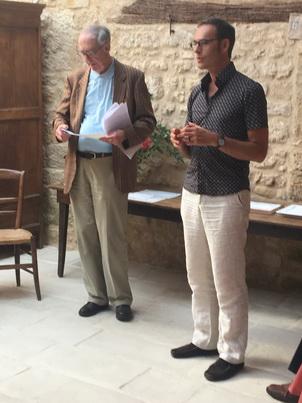 M. F. Pairault et M. Olivier Lebleu