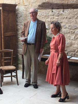 M. F. Pairault et Mme Michèle Guillot