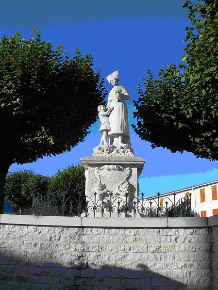 image statue Mme Minal